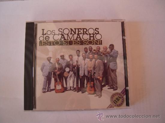 LOS SONEROS DE CAMACHO - ESTO SI ES SON - (Música - CD's Latina)