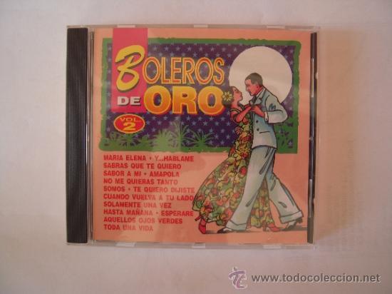 BOLEROS DE ORO VOLUMEN 2 (Música - CD's Latina)
