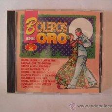 CDs de Música: BOLEROS DE ORO VOLUMEN 2 . Lote 37075972