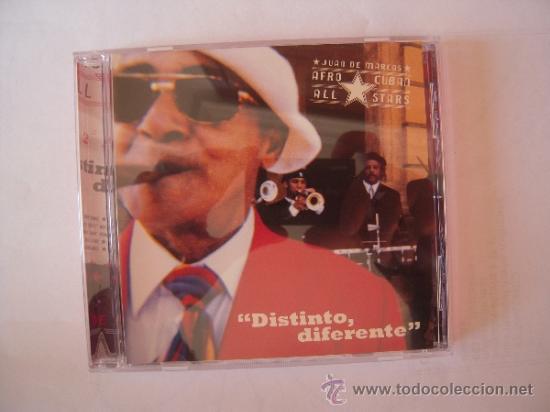 JUAN DE MARCOS - DISTINTO, DIFERENTE - (Música - CD's Latina)