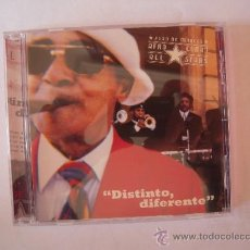 CDs de Música: JUAN DE MARCOS - DISTINTO, DIFERENTE -. Lote 37076993