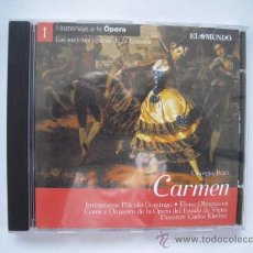 CDs de Música: PLACIDO DOMINGO Y ELENA OBRAZTSOVA - CARMEN DE BIZET -. Lote 37080190