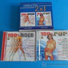 CDs de Música: OPERACIÓN 2X1