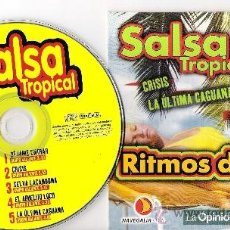 CDs de Música: LOTE DE 9 CD DE MÚSICAS VARIADAS: SALSA, SAMBA, BOLERO, COPLAS, MALAGUEÑAS, VERDIALES, RANCHERAS.... Lote 37046054