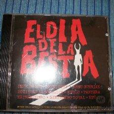 CDs de Música: CD - BSO - EL DIA DE LA BESTIA - DCD - SINIESTRO TOTAL - EXTREMODURO. Lote 37061829
