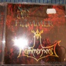 CDs de Música: 2 CD - HAMMERHEART - SIGN OF THE HAMMER. Lote 37062689