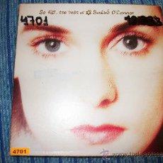 CDs de Música: DIGIPACK - SINEAD O'CONNOR - SO FAR …THE BEST OF - TIENE NUMERO ESCRITO. Lote 37064337