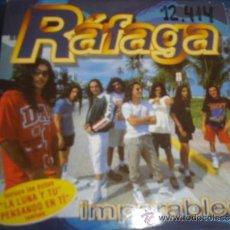 CDs de Música: RAFAGA IMPARABLES PROMO CD-MAXI 4 TRACKS. Lote 37067587