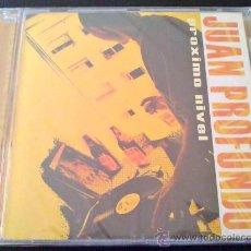 CDs de Música: JUAN PROFUNDO, PRÓXIMO NIVEL. CD NUEVO Y AÚN PRECINTADO. Lote 37067833