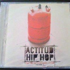 CDs de Música: ACTITUD HIP HOP, ALGO MÁS QUE SIMPLEMENTE MÚSICA VOL.3, VARIOS ARTISTAS - CD NUEVO Y AÚN PRECINTADO. Lote 37067925