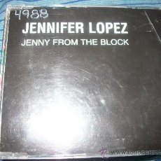 CDs de Música: PROMO CD - JENNIFER LOPEZ - JENNY FROM THE BLOCK - 2 TRACKS. Lote 37071739