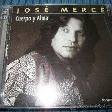 CDs de Música: 2 CD - JOSE MERCE - CUERPO Y ALMA. Lote 37073597