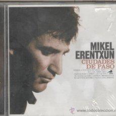 CDs de Música: MIKEL ENRENTXUN. CIUDADES DE PASO. CD. Lote 37084345