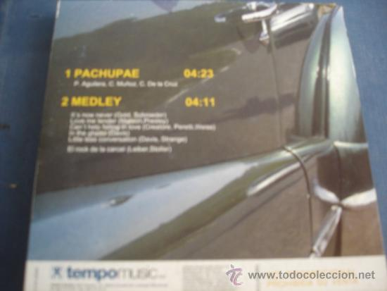 CDs de Música: PACO AGUILERA PACHUPAE / MEDLEY PROMO CD-SINGLE - Foto 2 - 37091082