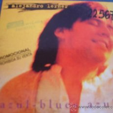 CDs de Música: ALEJANDRO LERNER AZUL - BLUES AZUL PROMO CD-SINGLE. Lote 37091985