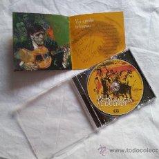 CDs de Música: CD DEDICADO FIRMADO Y DEDICADO POR PACO ARANA DE LA TAUROMAGIA AL DUENDE FLAMENCO GUITARRA AUTOGRAFO. Lote 37107547