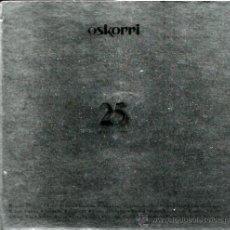 CDs de Música: DOBLE CD OSKORRI : 25 ( CONTIENE LIBRETO DE 100 PAGINAS ). Lote 37115020
