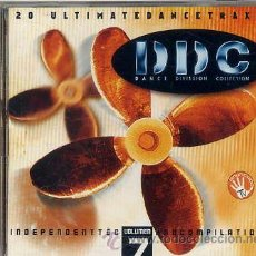 CDs de Música: DANCE DIVISSION COLLECTION - DOBLE CD PINK RECORDS 1997. Lote 65438465
