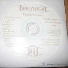 CDs de Música: CD IVORY NIGHT – TEASER PROMO – HEAVY POWER METAL. Lote 37124565