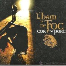 CD di Musica: CD L´HAM DE FOC : COR DE PORC . Lote 37131894