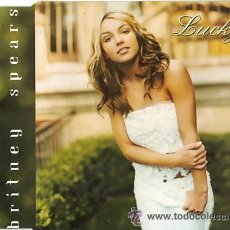 CDs de Música: BRITNEY SPEARS CD SINGLE LUCKY. Lote 37143006