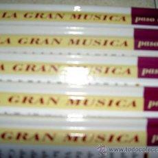 CDs de Música: LA GRAN MUSICA PASO A PASO LIBRO CD CLUB INTERNACIONAL LIBRO DEUTSCHE GRAMMOPHON LISZT O PROKOFIEV. Lote 128659464
