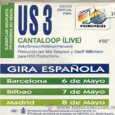 CD de Música: US3 / CANTALOOP (LIVE) EDICION ESPECIAL 40 PRINCIPALES) CD SINGLE CAJA 1994. Lote 37171804