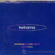 CDs de Música: KETAMA / AGUSTITO (4 VERSIONES) CD SINGLE CAJA 2000). Lote 37172483