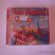CDs de Música: FIESTA HISPANA 2 - DOBLE CD CON 32 TEMAS SALSEROS -. Lote 37177849