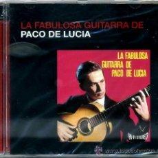 CDs de Música: PACO DE LUCÍA - LA FABULOSA GUITARRA DE PACO DE LUCÍA - NUEVO, PRECINTADO. Lote 37183315