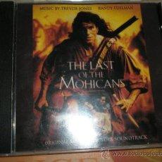 CDs de Música: CD-EL ULTIMO MHICANO-BANDA SONORA-TREVOR JONES-1992-16 CANCIONES-.. Lote 37274667