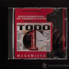 CDs de Música: TODO EN 1 - DISCO PROMOCIONAL DEL CUÁDRUPLE ÁLBUM - MEGAMIXES. Lote 37288008