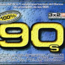 CDs de Música - 100 % 90's - Triple Cd 1999 - 121009003