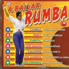 CDs de Música: CAMELA / PERET / PARRITA / LOS AMAYA / CALAITOS, ETC - A BAILAR RUMBA - DOBLE CD 1997. Lote 37240270