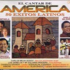 CDs de Música: CHABUCA GRANDA / PABLO MILANÉS, ETC - EL CANTAR DE AMÉRICA - TRIPLE CD 2002. Lote 37240539