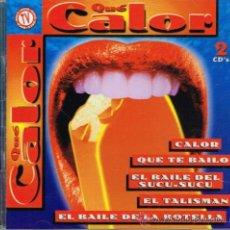 CDs de Música: LATINA / VICKY / LOS METIDOS / LAURA COSTA / MAURO LIMA, ETC - QUÉ CALOR - DOBLE CD 1997. Lote 37254151