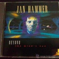 CDs de Música: JAN HAMMER, BEYOND THE MIND'S EYE. Lote 37260621