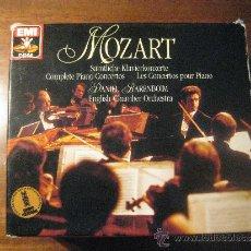 CDs de Música: MOZART - CONCIERTOS PARA PIANO COMPLETOS - DANIEL BARENBOIM - 10CD - EDITADOS POR EMI. Lote 37282224