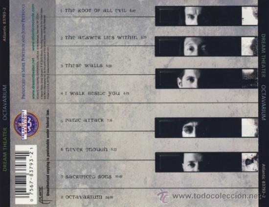 CDs de Música: Dream Theater - Octavarium cd - Foto 2 - 37331490