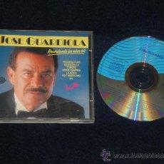 CDs de Música: JOSE GUARDIOLA CD RECORDANDO LOS AÑOS 60 - DIVUCSA 1989. Lote 37337927