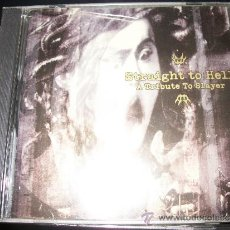 CDs de Música: CD - STRAIGHT TO HELL - A TRIBUTE TO SLAYER - THRASH METAL. Lote 37350563