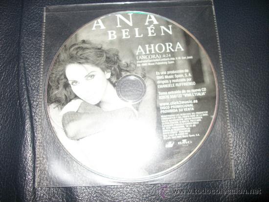 PROMO CD - ANA BELEN - AHORA - SOLO CD (Música - CD's Pop)