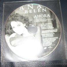 CDs de Música: PROMO CD - ANA BELEN - AHORA - SOLO CD. Lote 37385095