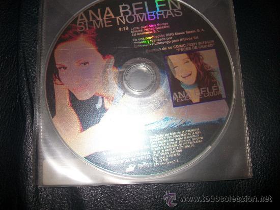 PROMO CD - ANA BELEN - SI ME NOMBRAS - SOLO CD (Música - CD's Pop)