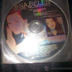 CDs de Música: PROMO CD - ANA BELEN - SI ME NOMBRAS - SOLO CD. Lote 37385132