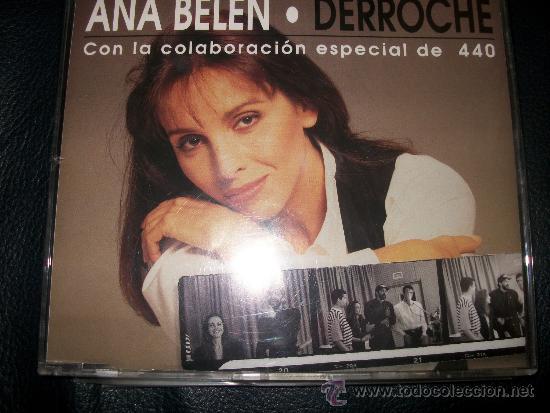 PROMO CD - ANA BELEN - DERROCHE -3 TRACKS - (Música - CD's Pop)