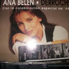 CDs de Música: PROMO CD - ANA BELEN - DERROCHE -3 TRACKS -. Lote 37385153