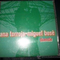 CDs de Música: PROMO CD - ANA TORROJA Y MIGUEL BOSE - DUENDE. Lote 37386198
