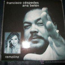 CDs de Música: PROMO CD - FRANCISCO CESPEDES Y ANA BELEN - REMOLINO. Lote 37386202
