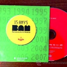 CDs de Música: LOS PLANETAS, ANTONIA FONT, RED... BAM - BARCELONA ACCIÓ MUSICAL. Lote 37404054